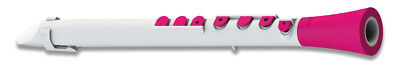 Nuvo Dood Klarinette in weiß-pink (C-Stimmung)