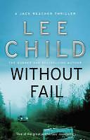 Without Fail  by Lee Child, Paperback, Jack Reacher