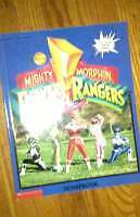Vintage Power Ranger Video and book for sale London Ontario image 2
