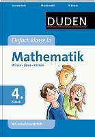 Duden - Einfach klasse in Mathematik 4. Klasse von Ute Müller-Wolfangel, Beate S