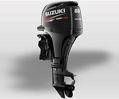 BLOW OUT PRICE - New 2014 SUZUKI 60 HP 4 Stroke Outboard