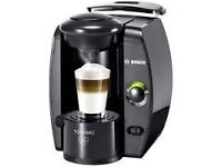 Tassimo Fidelia Coffee Machine Black Factory Sealed In Box. Brand New (BOSCH) RRP £119