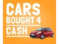 Scrap Cars, Vans, 4x4s Wanted Any age Any condition Best prices paid'