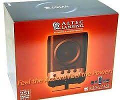 ALTEC LANSING Home Cinema sound surround Speakers