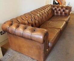 Leather Sofa - Chesterfield by Moran Coorparoo Brisbane South East Preview