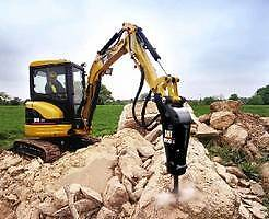 ROCK BREAKER EXCAVATOR HIRE WITH OR WITHOUT OPERATOR Pearsall Wanneroo Area Preview