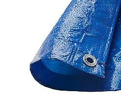 Reinforced Economy Tarpaulins in green or blue. 5.4m x 3.5m in size.These are Polyethylene.