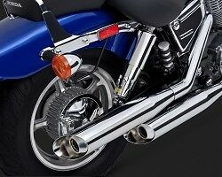 Vance & Hines Classic II Slash Cut Exhaust For Honda VT1100 Stratford Kitchener Area image 3