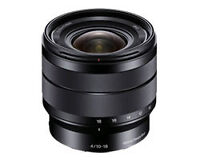 Sony e-mount 10-18mm and 50mm 1.8