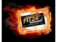 Fit24 in Hulls City Centre open 24/7 - £5 per session.......see you soon.