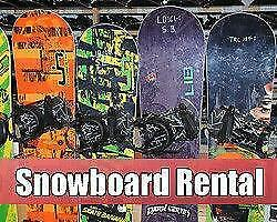 SEASONAL SNOWBOARD RENTALS @ NIAGARA SKI & SNOWBOARD RENTALS!