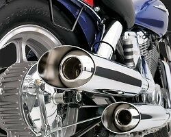 Vance & Hines Classic II Slash Cut Exhaust For Honda VT1100 Stratford Kitchener Area image 2