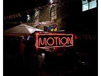 2x Motion bristol tickets