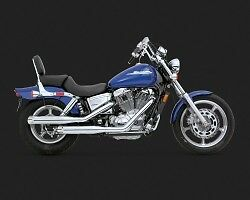 Vance & Hines Classic II Slash Cut Exhaust For Honda VT1100 Stratford Kitchener Area image 4