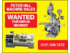 NEW & USED MACHINE SALES / WANTED YOUR SURPLUS MACHINERY Staffordshire, Birmingham