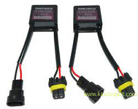 2x HID Warning Canceller Modules PAIR une PAIRE anti-Flicker kit