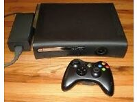 CHEAP XBOX 360, MUST GO. 5 GAMES, CONTROLLER AND ALL WIRES INCLUDED
