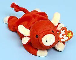Snort the bull Ty Beanie Baby stuffed animal