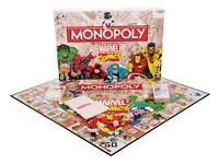 Marvel Comics Monopoly New Sealed