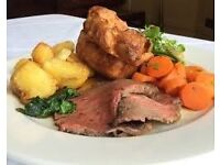 Sunday roast cook required for busy real ale pub