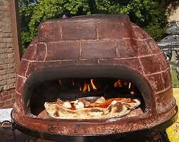 Mexican clay Outdoor oven - new, perfect condition