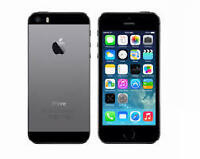 SELLING USED APPLE IPHONE 5S 16GB SPACE GREY LOCKED WITH BELL