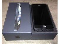 IPhone 5 unlocked with box!
