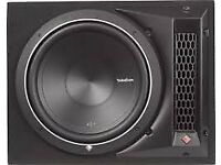 "Rockford Fosgate Punch Series - P1-1X12 Single P1 12"" Loaded Enclosure"