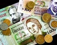 Best Exchange rates for URUGUAY PESOS