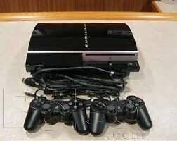 PS3 FAT 150GB - 2 CONTROLLERS - 7 GAMES