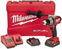 Milwaukee 2603-22CT M18 FUEL 1/2 in. Drill/Driver Kit -perceuse