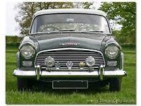 Wanted-Humber Hawk/Snipe-pre 1960 -prefer Auto