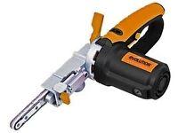 """Evolution File Sander 1/2"""" 400W thin belt sander 230V NEW"""