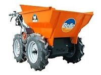 Muck Truck Power Barrow Mini Dumper - WANTED