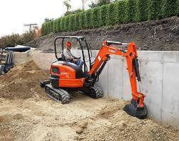 EXCAVATOR HIRE -  3.5 TONNE ZERO SWING EXCAVATOR DRY HIRE Belmore Canterbury Area Preview