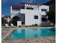 Chania Crete great villa for 2 families , 680 per week. Private pool.