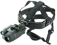 NIGHT VISION GOGGLES/HEADSET/AS NEW