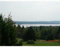 Fantastic bargain, near Moncton, lot with scenic views