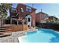 4 bedrooms house in Mississauga for rent