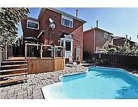 4 +2 bedrooms detach house in Lisgar Mississauga for rent $2490