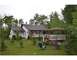 Beautiful Acreage Bungalow on Private Wooded 3 Acres For Rent