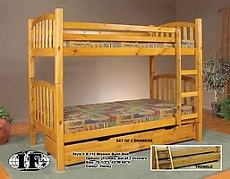 $399 · Brand new bunk beds on clearence 20 t0 30% 0ff check us o Regina Regina Area image 2