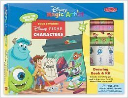 Disney Magic Artist - Drawing Book & Kit (NEW)