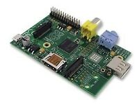 Raspberry Pi Model B (512MB RAM + SD 64GB + 5V 1A + cable