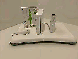 Wii Console with Wii Fit and Wii Fit Board