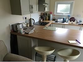 One bed property on farm near to Kingsteignton. Kitchen, garden, decking, bathroom, one bed.