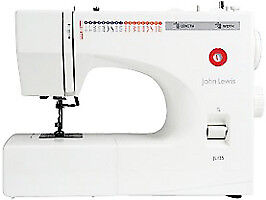 John Lewis JL125 sewing machine (30 mins use