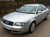 AUDI A6 2003 TDI 2.5 SPORT AUTO - Repair fuel pump to drive or use for parts