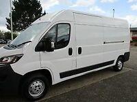 Peugeot Boxer Van for hire