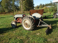 1949 Ford 8N Tractor with other 8N Parts